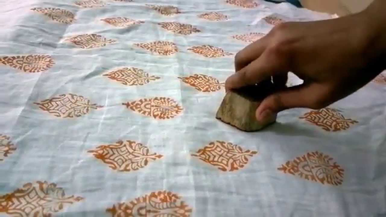 hand block printing using wooden blocks a tutorial by