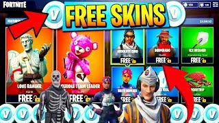 *NEW FREE SKINS GLITCH* How To Get Any Skin Free 💰 Fortnite Season 5 (Working on PS4/XB1/PC)