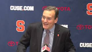 John Wildhack Press Conference on Babers Extension