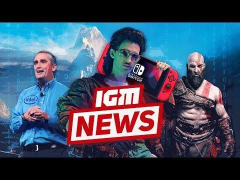 IGM News: Взлом Nintendo Switch и геймплей God of War