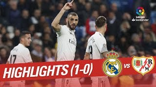 Highlights Real Madrid vs Rayo Vallecano (1-0)