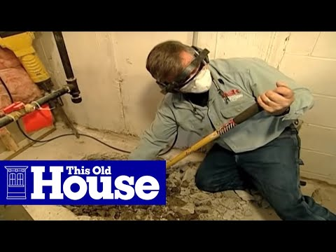 How to Install a Sump Pump - This Old House