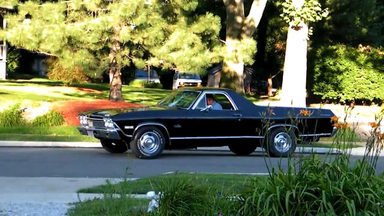 1968 Chevrolet El Camino Malibu Youtube