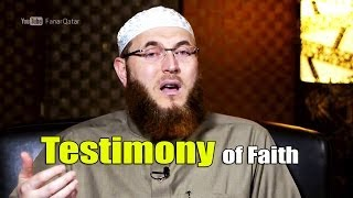 Shahadah (Testimony of Faith) – Dr. Muhammed Salah