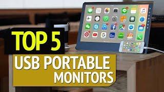 TOP 5: Best USB Portable Monitors 2019