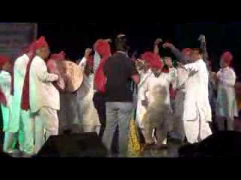 Dharti Dhora Ri by Gajendra Bhati at Thakur Auditorium on Holi...