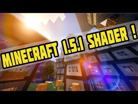 Minecraft 1.5.1 Shader Mod + Tutorial! (Sonic Ether's Unbelievable Shaders- SeusV8/V10) [Deutsch|HD]