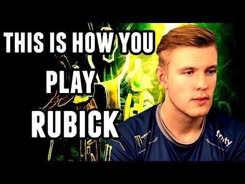 Rubick Pro Gameplay - Crit Roaming - Best Support Player Dota 2
