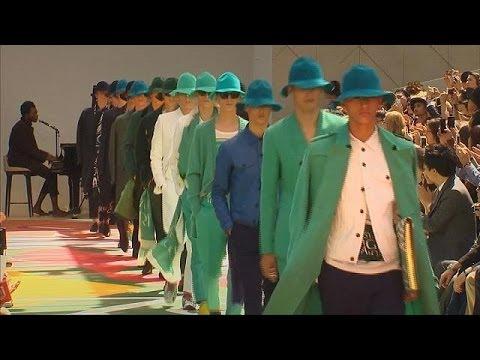 مدل های لباس مرانه در آخرین روز هفته مد لندن - le mag
