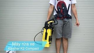Tinhte.vn | Trên tay máy rửa xe Karcher K2 compact: Máy nhỏ gọn nhẹ, mạnh, sx tại Đức