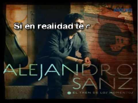 Alejandro Sanz   Quisiera Ser
