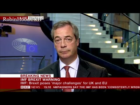 Nigel Farage tells the BBC You think we're not good enough