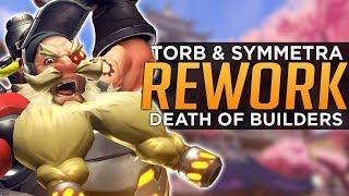 Overwatch: Torbjorn & Symmetra Reworks - The Death of Builders!?