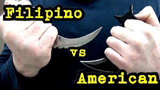 Karambits - the Traditional vs Modern! Comparisons & Practical Advice !