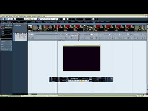 Cubase 5. Tutorial 2: Editar audio de un vídeo. Cortar, copiar, mover Wav.