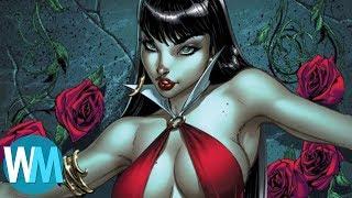 Top 10 Hottest Non-Superhero Women In Comic Books