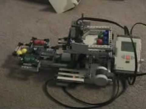 LEGO Mindstorms NXT 2.0 Ball Sorter