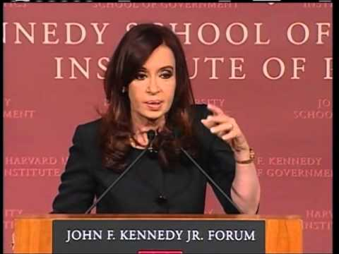 A Public Address by Her Excellency Cristina Fernández de Kirchner, President of Argentina - English