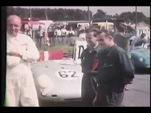 Porsche 550 RS Spyders at LeMans 1955