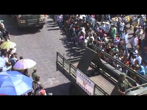 Zacatecas: Desfile del 16 de Septiembre de 2011