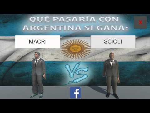 Gameplay del Futuro Presidente de Argentina