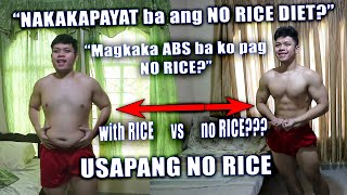 Effective ba ang NO-RICE DIET???