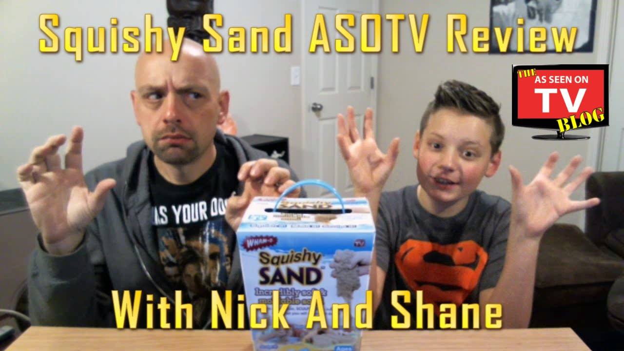 squishy sand review with nick and shane does squishy sand really work as seen on tv review. Black Bedroom Furniture Sets. Home Design Ideas