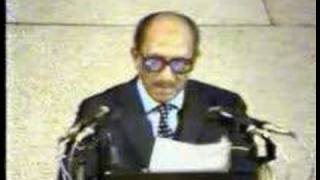 Anwar Assadat speech in the Israeli Knesset 1977 -- Part 2-3
