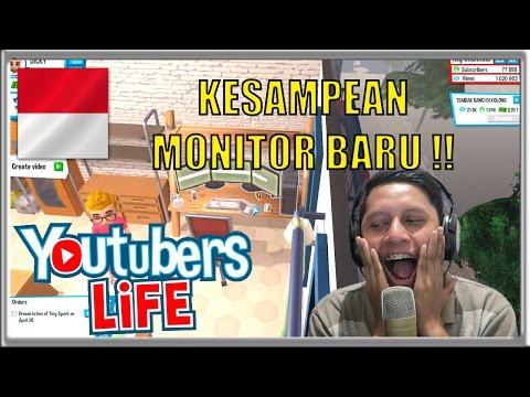 AKHIRNYA 3 MONITOR !! - Youtubers Life Indonesia #6