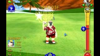 Polar Golfer Stroke and Champion Game (FAKE)