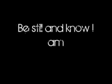 The Fray - Be Still (Lyrics)