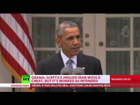 Iran deal best option: Military actions can't stop nuclear program – Obama