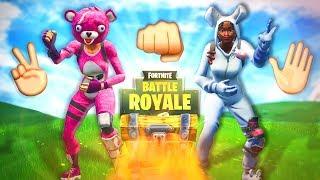 Die SCHERE, STEIN, PAPIER Challenge!   Fortnite Battle Royale - mit Gustaf Games