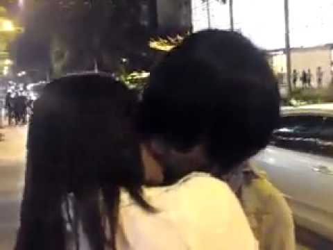 Malay Couple Kissing video