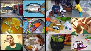 #DIML LAST DAY IN PUNE|BUSY DAY|HOW I PACK MY BAGS|😋FISH CURRY|DIY MILK PEEL OFF MASK
