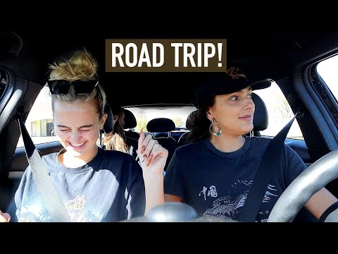 VLOG | A Very Interesting Road Trip With My Sister! | Suede Brooks