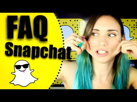 FAQ Snapchat - Natoo