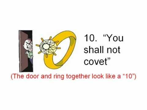 10 Commandments For Kids Youtube