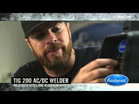 TIG Welder & Roadkill Host Mike Finnegan - Drag Boat Trailer Frame - Eastwood