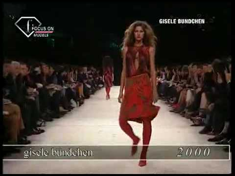 Gisele Bundchen Fashion Retrospective 1998-2003