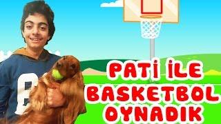 Ege ile Pati Basketbol Oynadı! | Eğlence Videoları | Pati'nin Dünyası | Oyuncak Butiğim