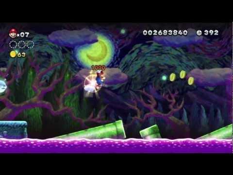 New Super Mario Bros. U gameplay Nintendo Wii U Part 1