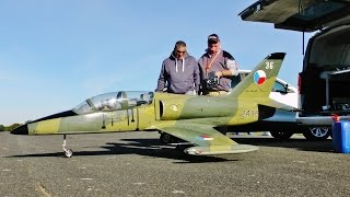 TOMAHAWK L-39 ALBATROS JET TRAINER RC GIANT SCALE - TIBENHAM TRIBUTE FLY-IN - 2016