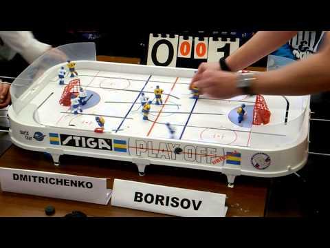 Table Hockey. Moscow Open 13.  Dmitrichenko-Borisov. Game 1