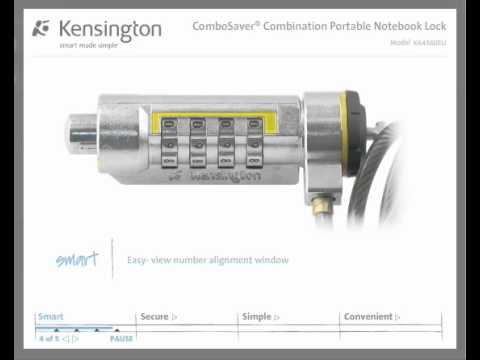 Kensington Combination Laptop Lock Combination Laptop Lock