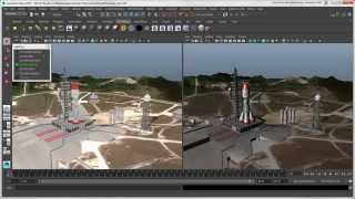Softimage to Maya Bridge: How Objects Look in the Maya Viewport