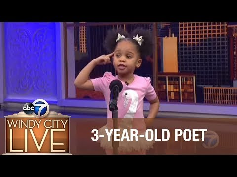 3-year-old Blows Away Audience With Poem For Black History Month! video