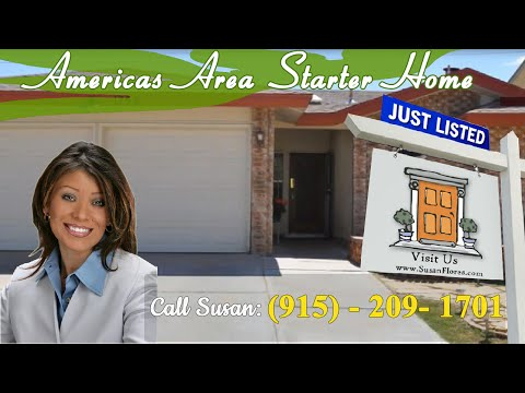 Homes For Sale In El Paso TX 79936 - Great Starter Home - Americas Area
