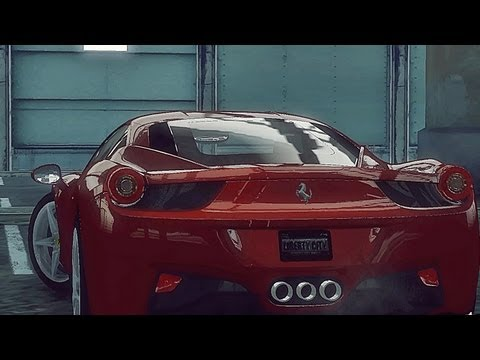 GTA 4 2010 Ferrari 458 Italia !!  ENB series Extreme Graphics  [ Car mods + RealizmIV + VisualIV ]