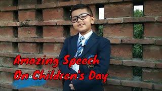 Children's day speech in english